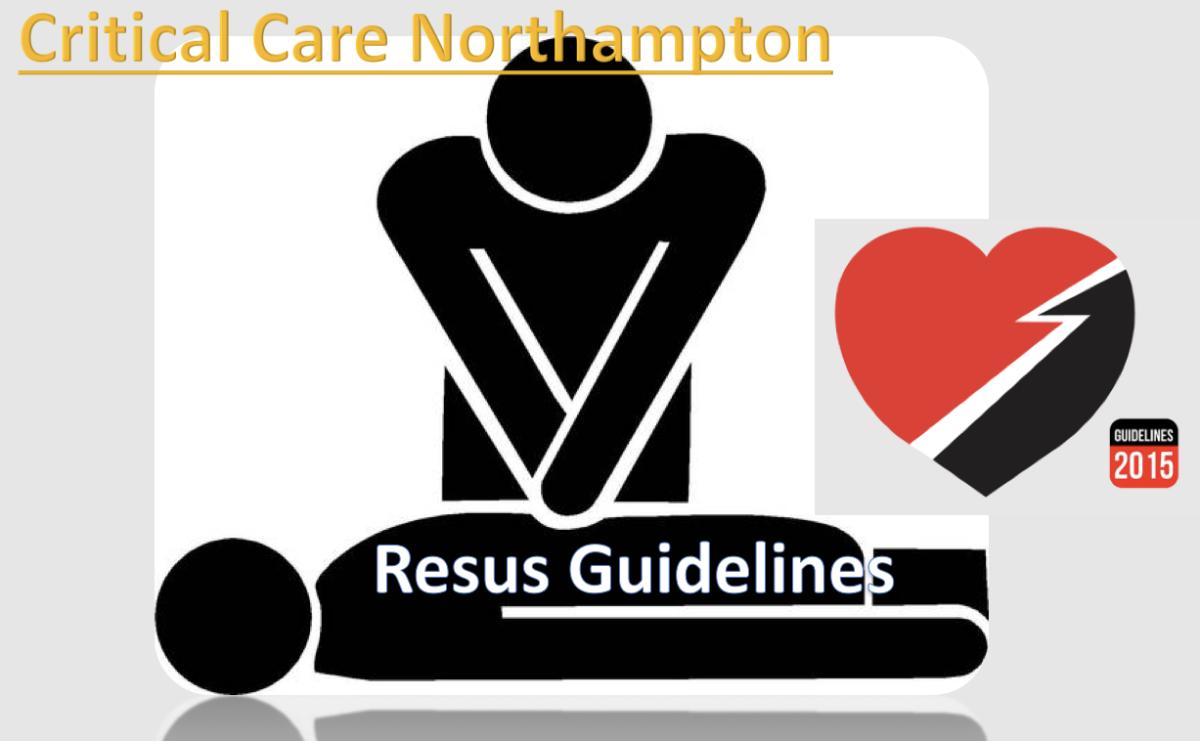 Resuscitation Algorithms