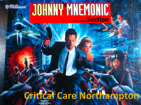 Mnemonic Section – Critical Care Northampton