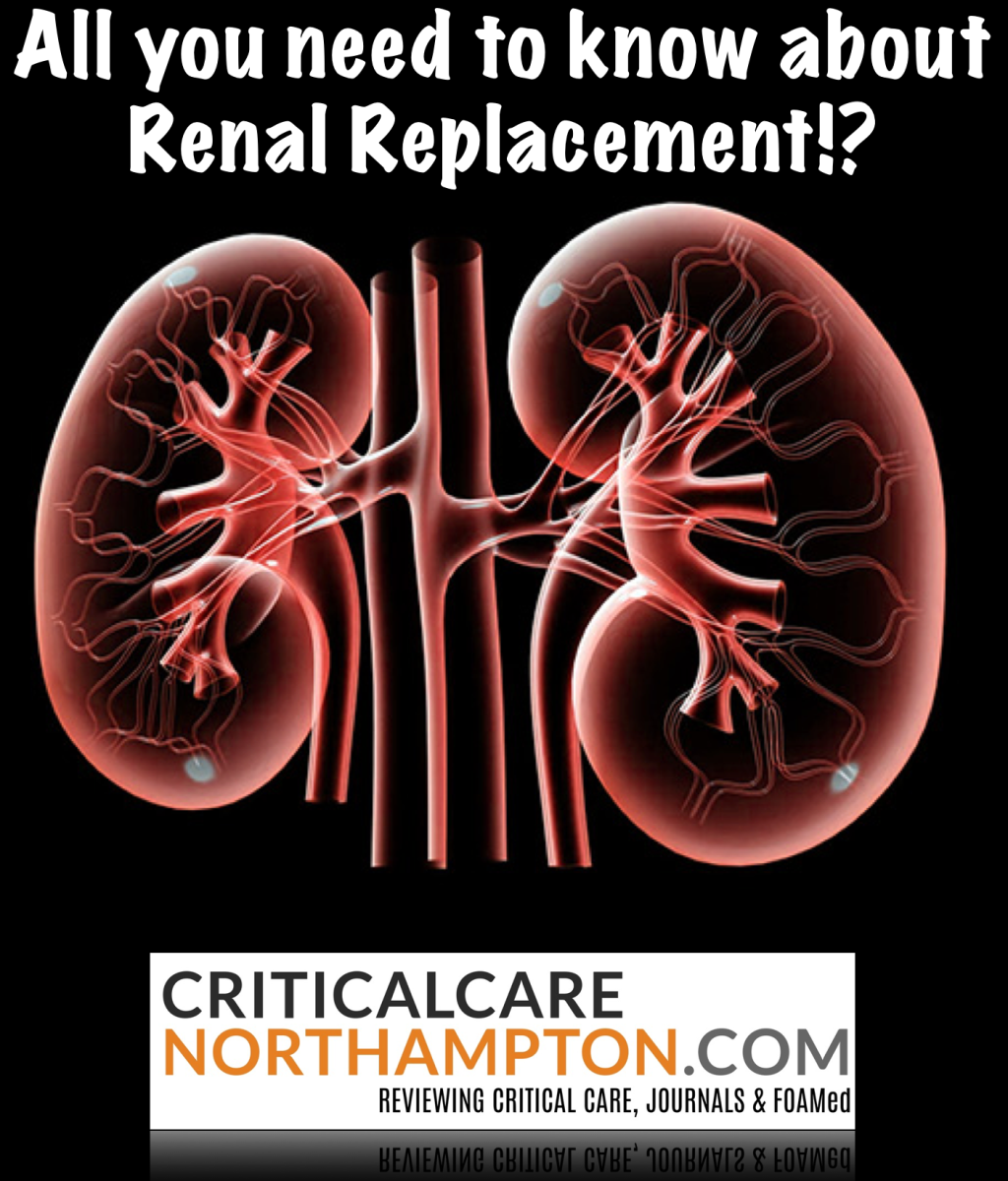 Renal Replacement, busting the confusion! #FOAMed #FOAMcc #FOAMem #dialysis