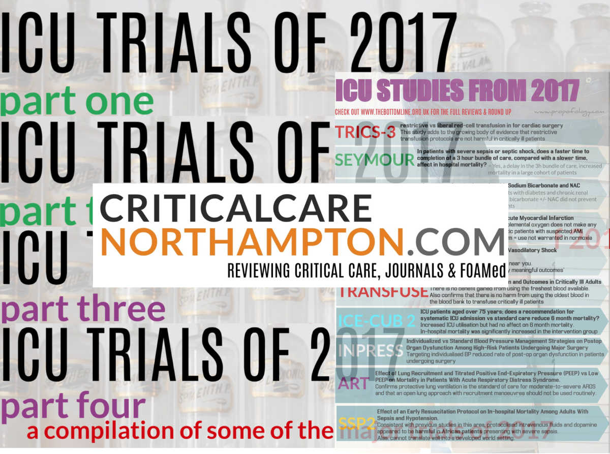 Studies To Remember 2017 By! #FOAMed #FOAMcc #POCUS #visualabstracts